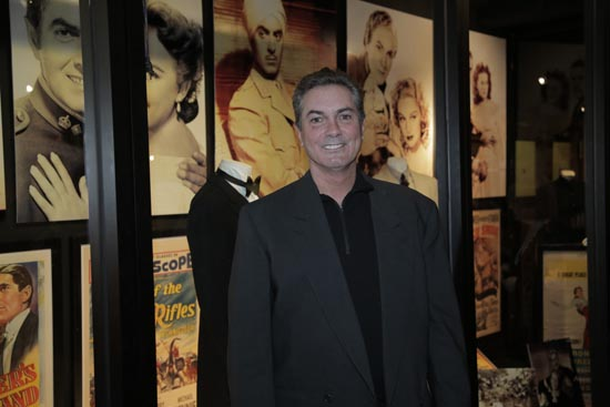 Tyrone Power Jr at The Hollywood Museum Tyrone Power Exhibit Opening Gala