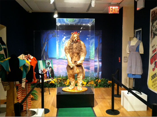 Burt Lahr's Cowardly Lion costume from The Wizard of Oz