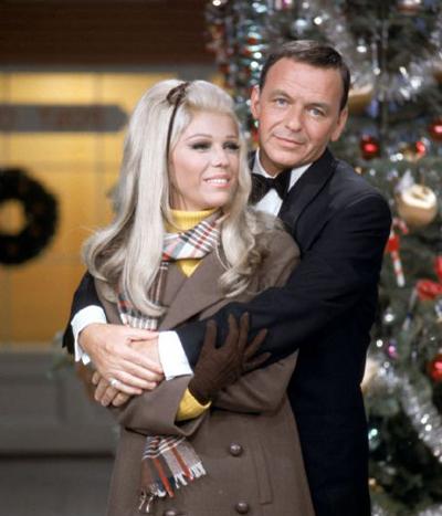 Frank and Nancy Sinatra tree