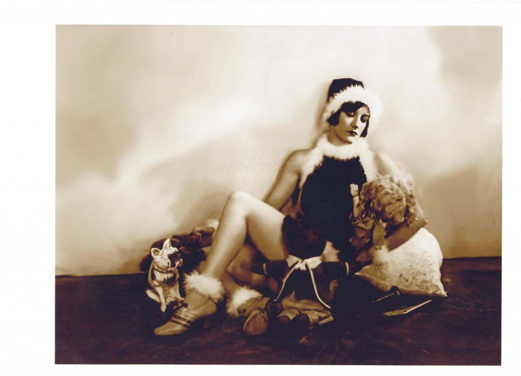 Joan Crawford as an elf
