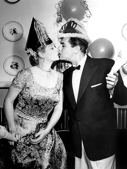 Lucille Ball and Dezi Arnez new years