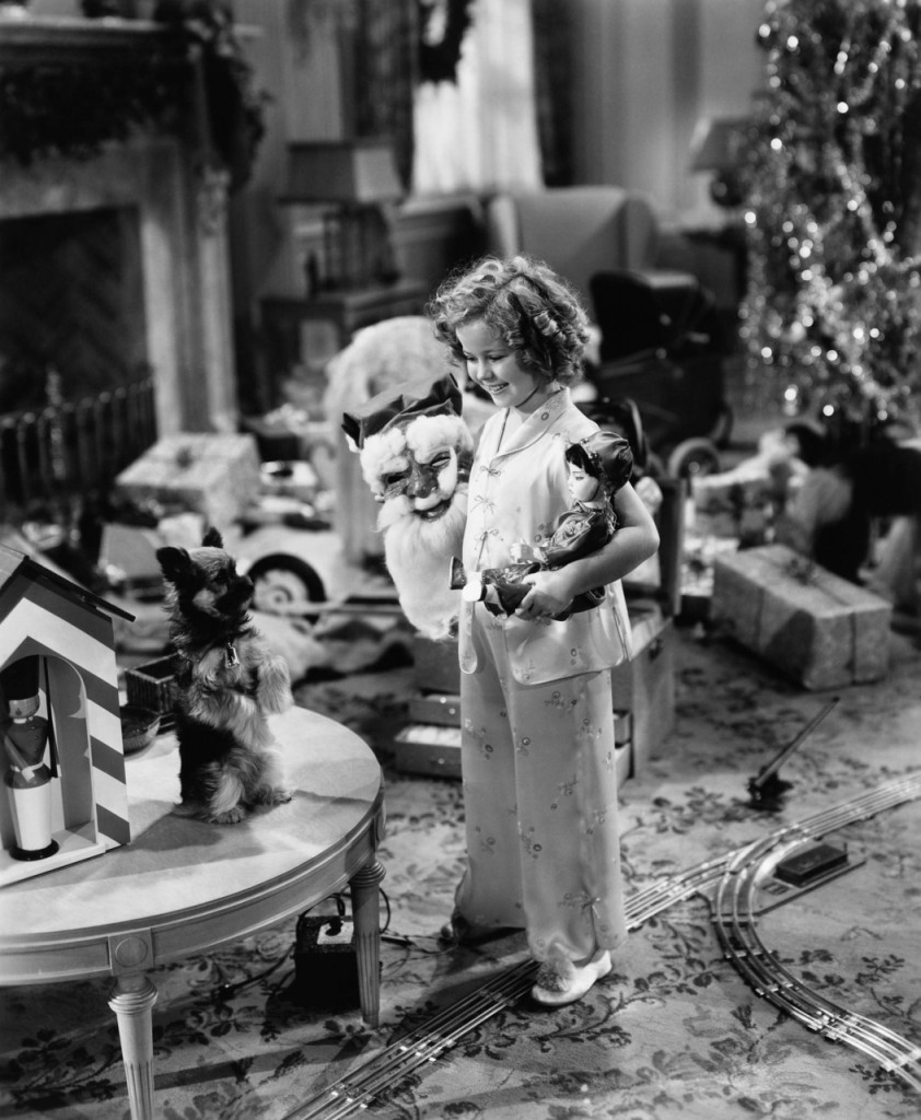 Shirley Temple and perfect dog