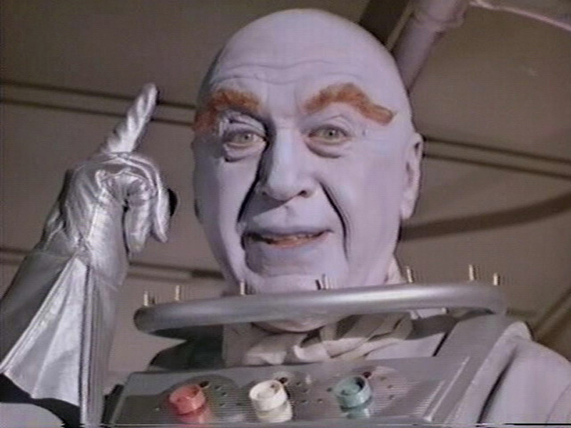 Otto Preminger as Mr. Freeze in Batman TV Series