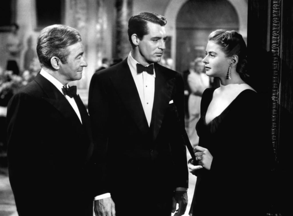 Cary Grant, Claude Rains, Ingrid Bergman, Notorious