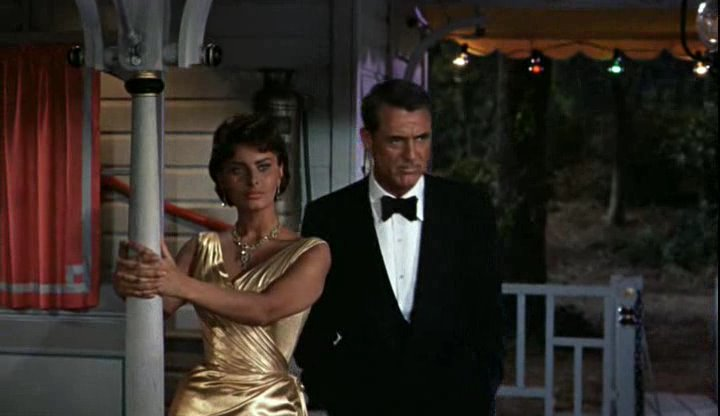 cary grant and sophia lauren in houseboat
