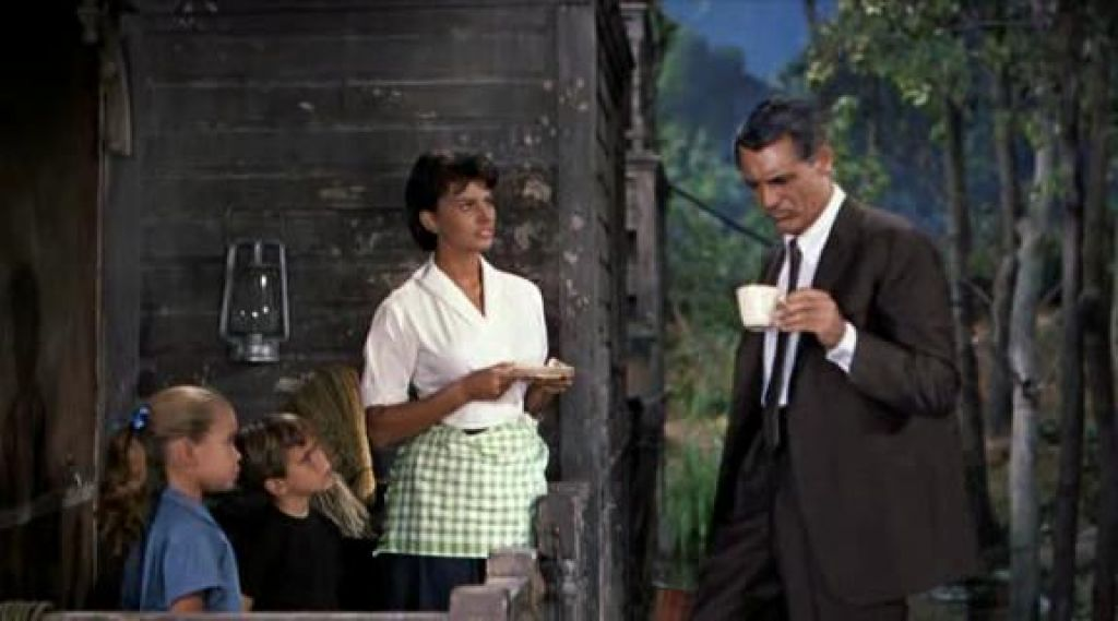 cary grant and sophia loren in houseboat