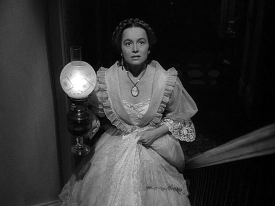 olivia de havilland, last scene the heiress
