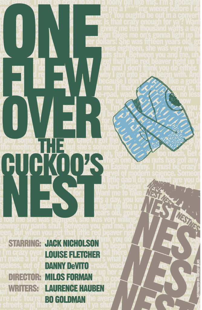 One Flew over the Cuckcoo's Nest poster