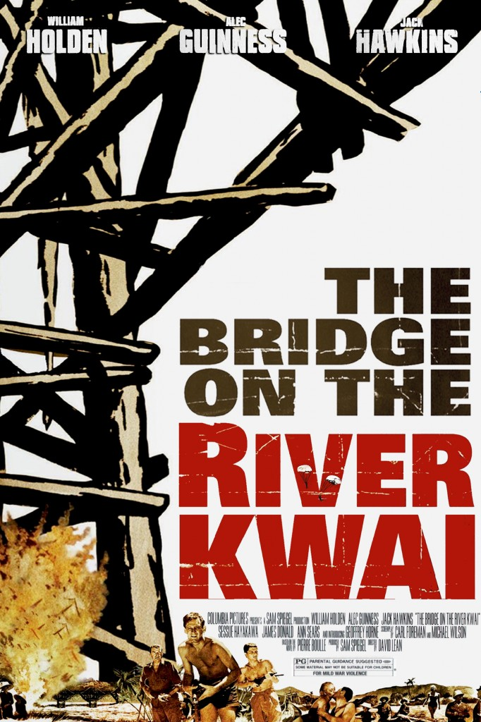 The Bridge over River Kwai poster