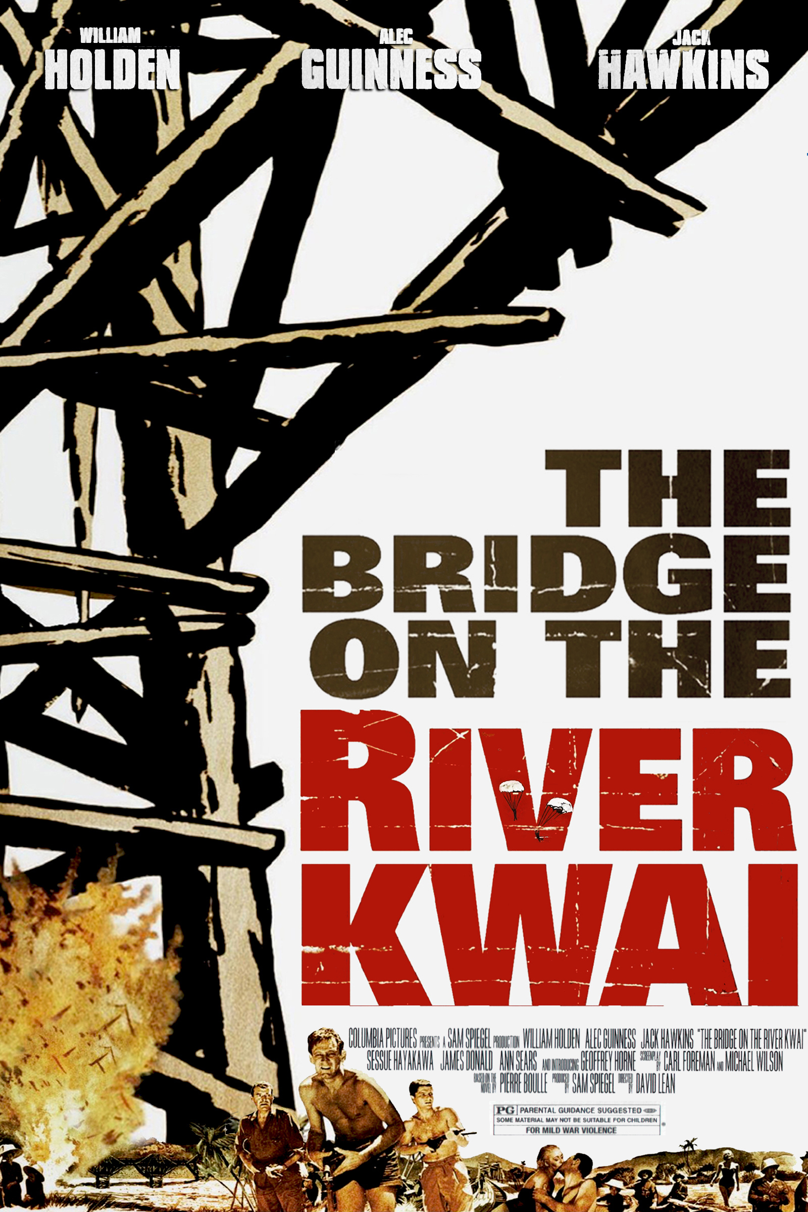an overview of the bridge over the river kwai Overview toiling in the searing heat and humidity, over 60,000 australian,   immortalised by david lean's film 'the bridge on the river kwai', based on a  book.