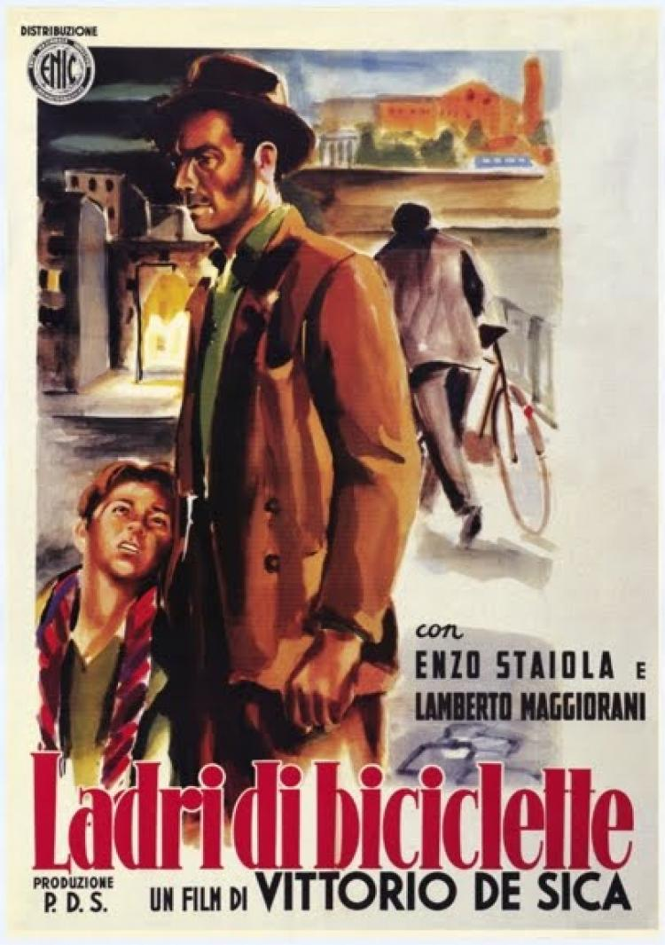 an analysis of the film the bicycle thief This film has written with as an effect of the movement of italian neo-realism the  bicycle thieves has offered us a section about positions of workers in roma.