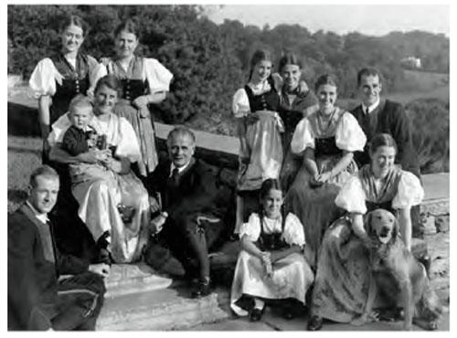 The von Trapp Family, 1941