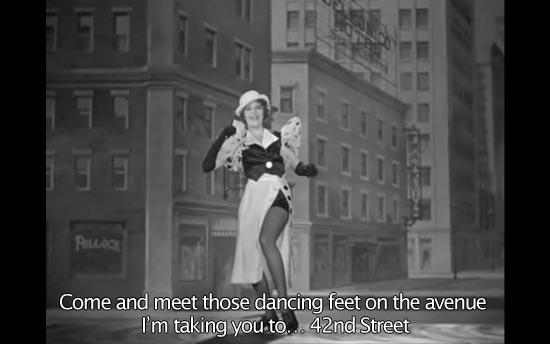 42nd Street Ruby Keeler as Peggy / Classic Movie Hub