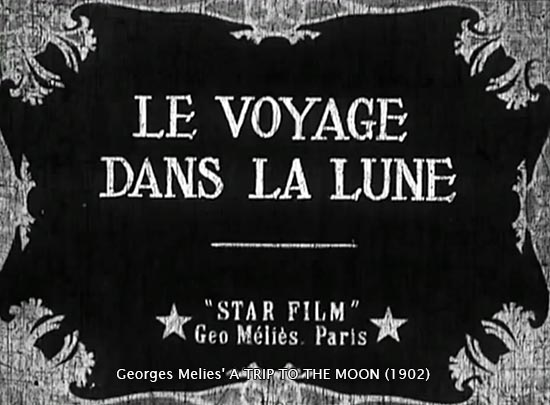 George Melies' A Trip to the Moon (1902)