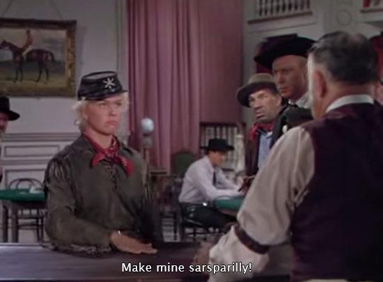 Calamity Jane (1953)... Make mine sarsparilly!