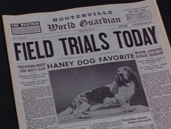 Hooterville newspaper, green acres