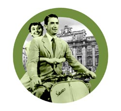 TCM Classic Film Festival 2015 Roman Holiday Button