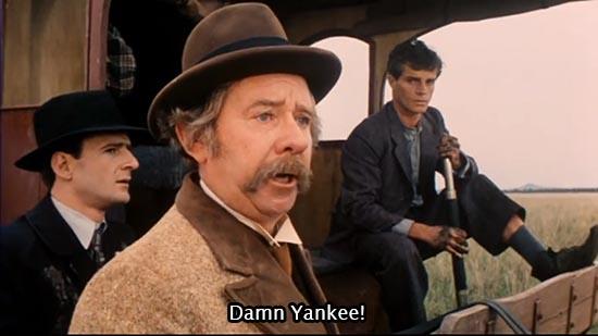 The Picture Show Man (1977) Damn Yankee!