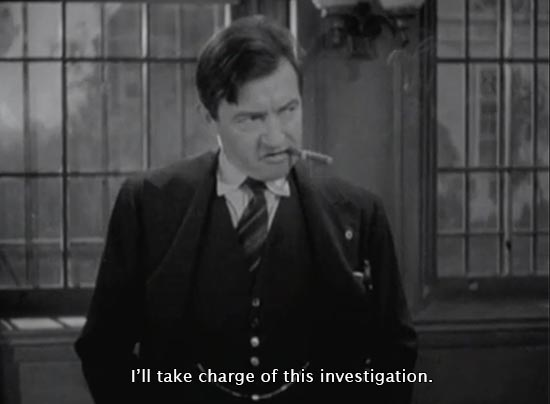 They Won't Forget (1937)...I'll take charge of this investigation. -Claude Rains as Andy Griffin