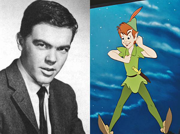 Bobby Driscoll, voice actor, Disney's Peter Pan