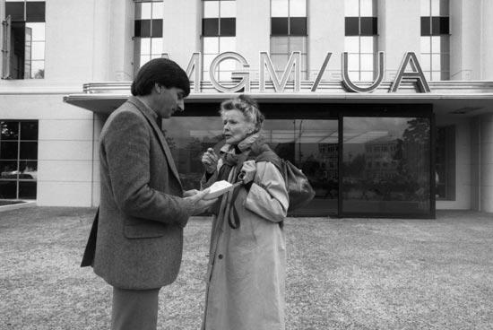 David Heeley with Katharine Hepburn, In the Company of Legends
