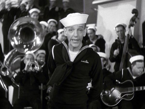 Fred Astaire sings We Saw the Sea in Follow the Fleet