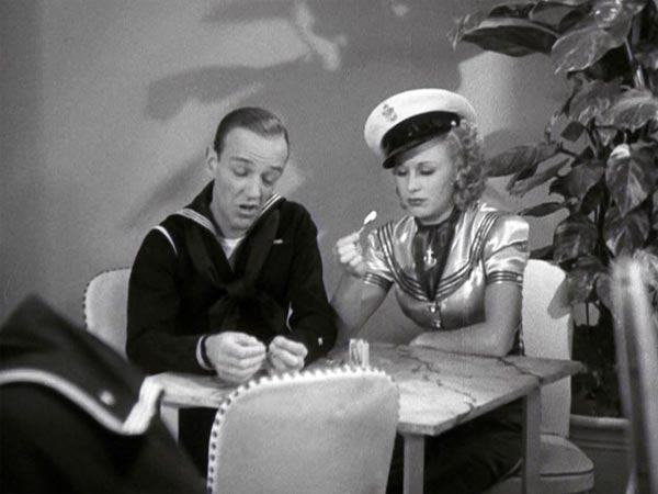 Fred Astaire and Ginger Rogers, Follow the Fleet