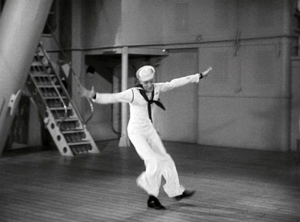 fred astaire dancing to i'd rather lead a band in follow the fleet