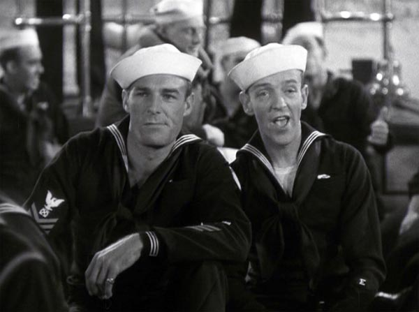 fred astaire and randolph scott on shore leave in follow the fleet