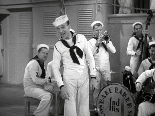 fred astaire singing i'd rather lead a band in follow the fleet