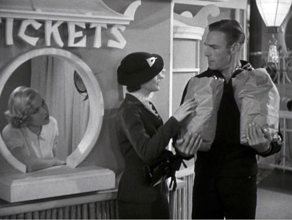 Harriet Hilliard meets Randolph Scott in Follow the Fleet