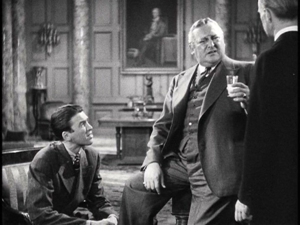 james stewart and edward arnold, you can't take it with you
