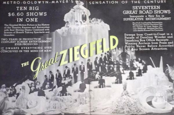 "picture from 1936 biopic ""The Great Ziegfeld,"""