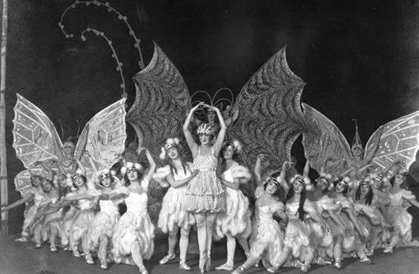 "Marilyn Miller in ""The Butterfly Ballet"" from ""Sally,"" 1920"