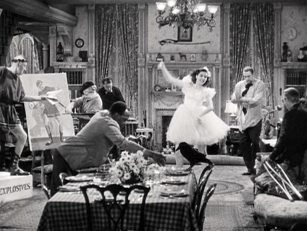 You can't take it with you, ann miller dancing
