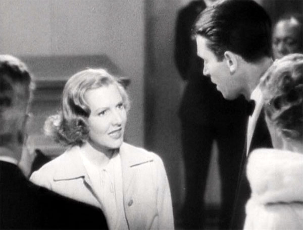 you can't take it with you, jean arthur gets angry
