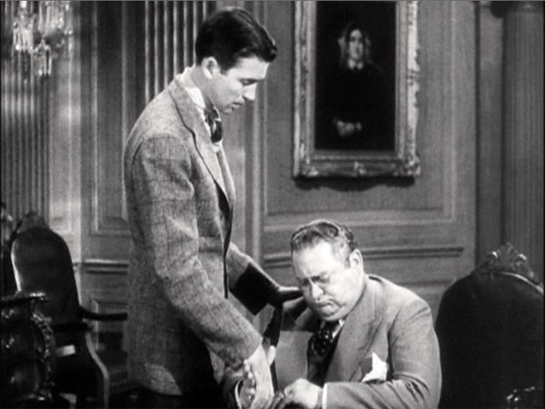 you can't take it with you, james stewart says goodbye to edward arnold