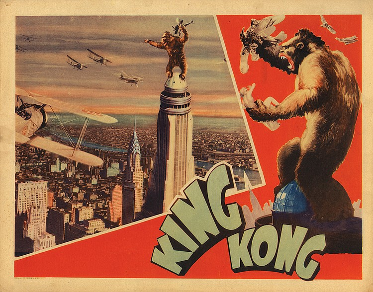 Lot464 King Kong from the Everett Morris Jr. Collection