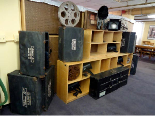 Essanay Studios office