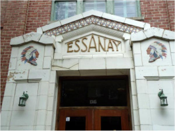 Essanay Studios front