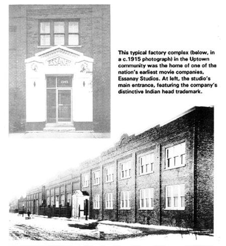Essanay Studios historic pictures