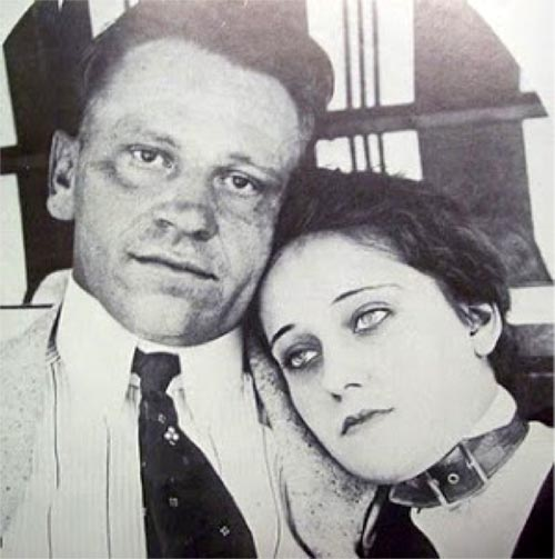 Gloria Swanson and Wallace Beery in 1916