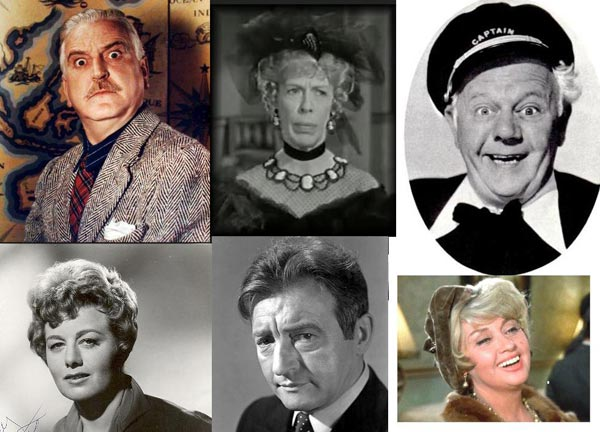 "Character actors spotlighted in ""Also Starring"":Frank Morgan, Edna May Oliver, Charles Winninger, Shelley Winters, Claude Rains, Joan Blondell"