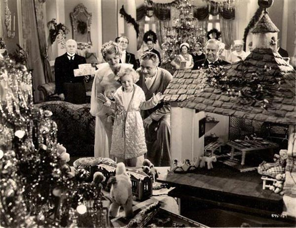 "The Christmas scene in ""the Great Ziegfeld,"" the only moment Billie Burke deemed genuine in the film."