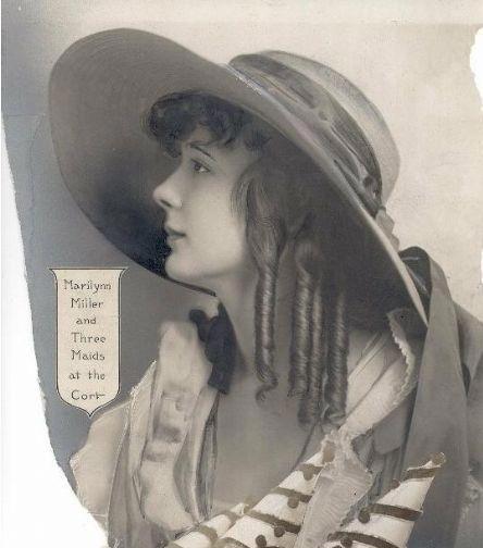Marilyn as a teen, circa 1916
