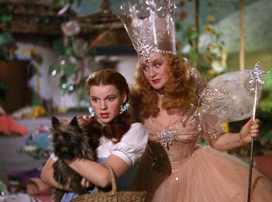 "Dorothy and Glinda in ""The Wizard of Oz,"" the inspirations behind ""Ziegfeld and His Follies"""