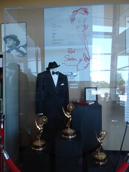 Red Skelton's tux and Emmys at Red Skelton Museum