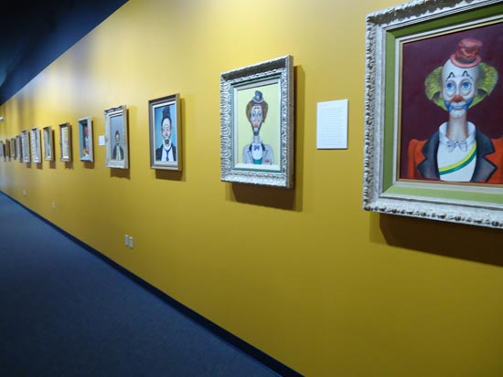 Red Skelton paintings at Red Skelton Museum