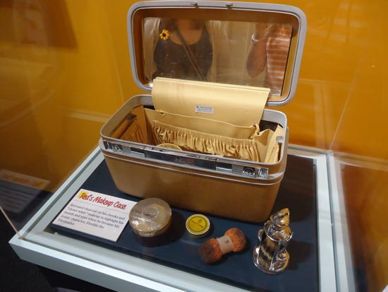 Red Skelton's Makeup Case at Red Skelton Museum