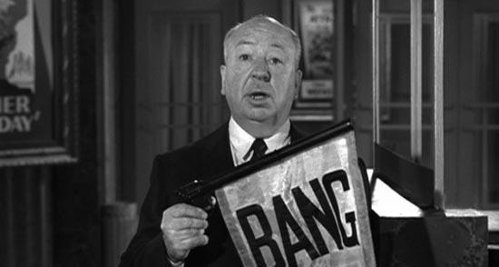 Alfred Hitchcock, bang